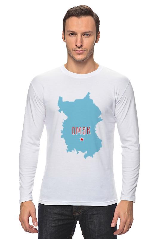 Лонгслив Printio Омская область. омск