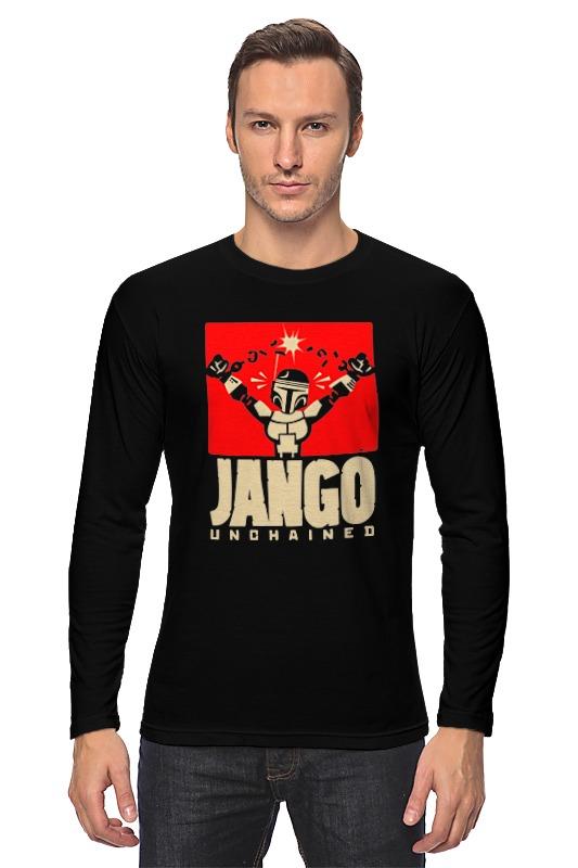 купить Лонгслив Printio Джанго х боба фетт (django) недорого