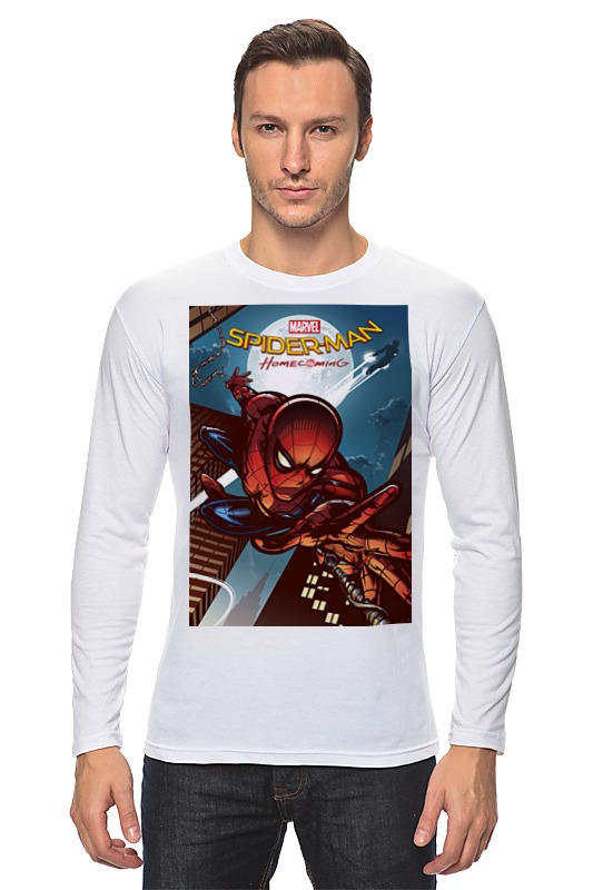 Лонгслив Printio Spider-man лонгслив printio spider minion