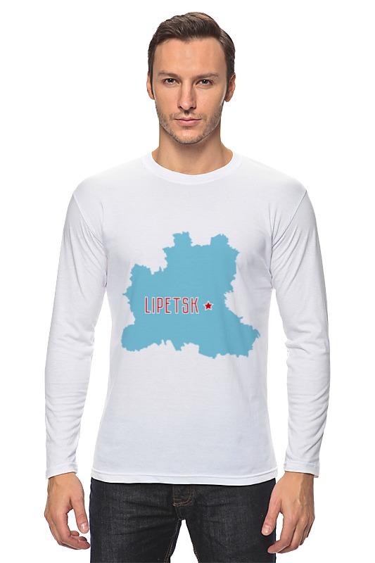 Лонгслив Printio Липецкая область. липецк