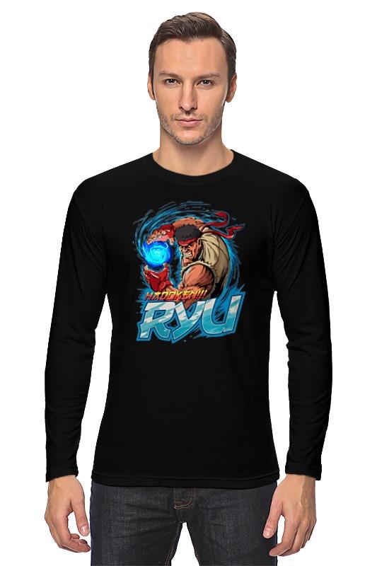 Лонгслив Printio Ryu (street fighter)