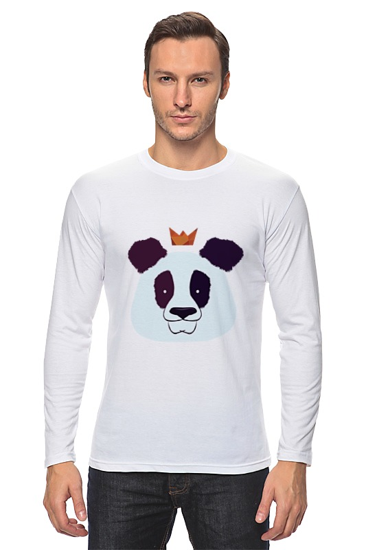 Лонгслив Printio Король панда