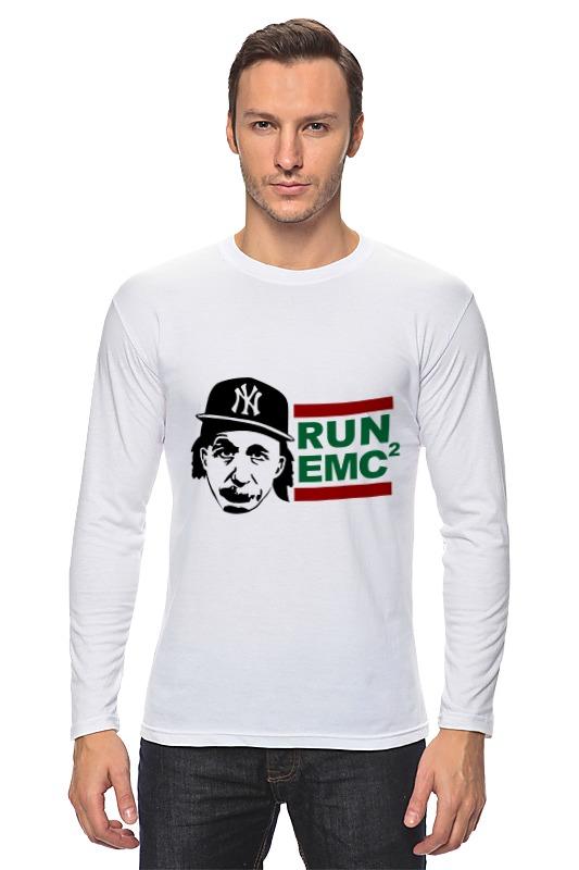 купить Лонгслив Printio Run emc по цене 942 рублей