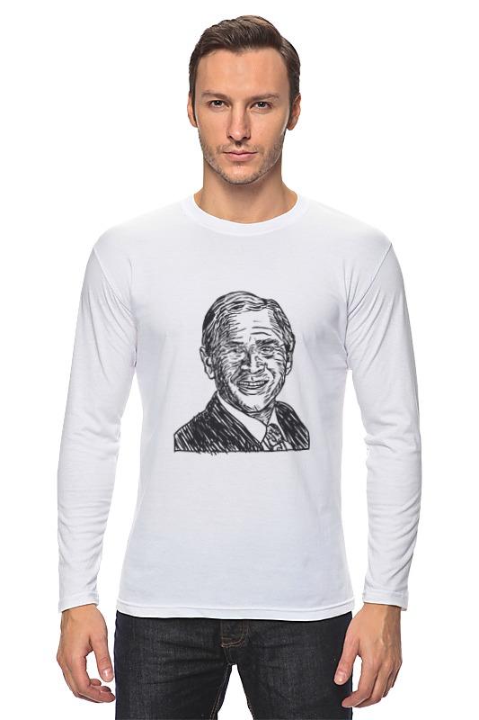 Лонгслив Printio Буш джорж футболка wearcraft premium slim fit printio be or not to be