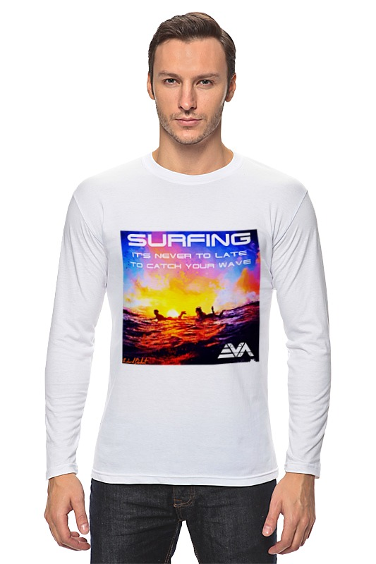 Лонгслив Printio Серфинг на закате лонгслив printio серфинг на закате
