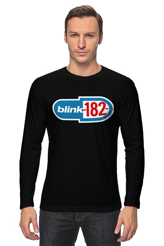 Лонгслив Printio Blink-182 лонгслив printio панк рок кафе