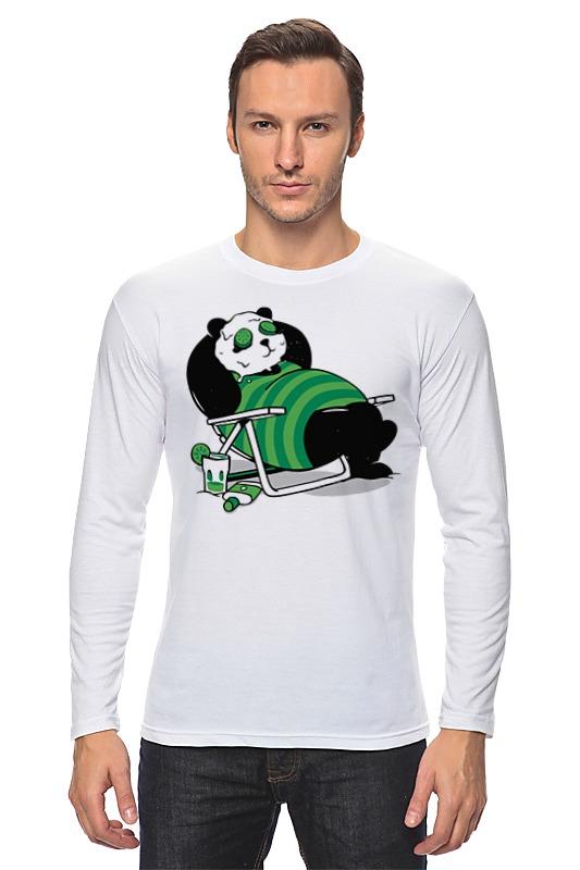 Лонгслив Printio Панда (panda) panda робот пылесос panda i5 золотой