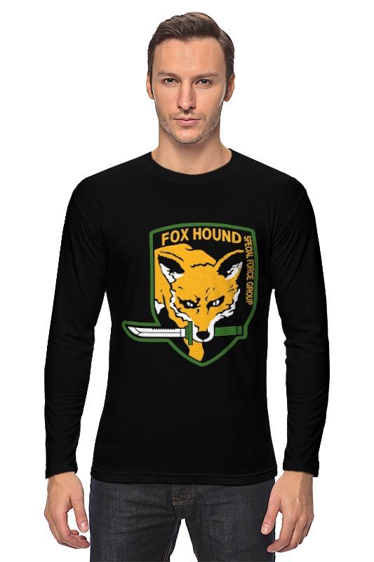 Лонгслив Printio Fox hound hound рубашка hound модель 201903559