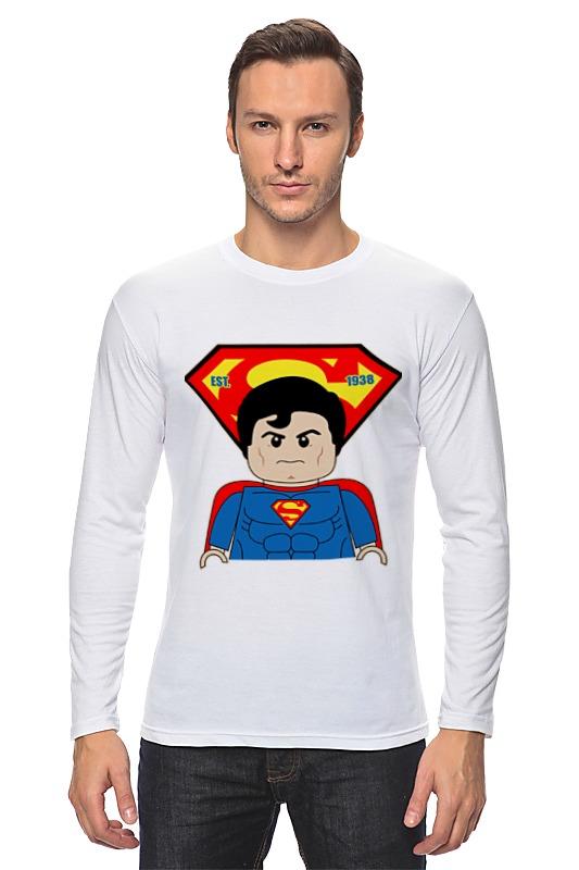 Лонгслив Printio Лего супермен детское лего gudi