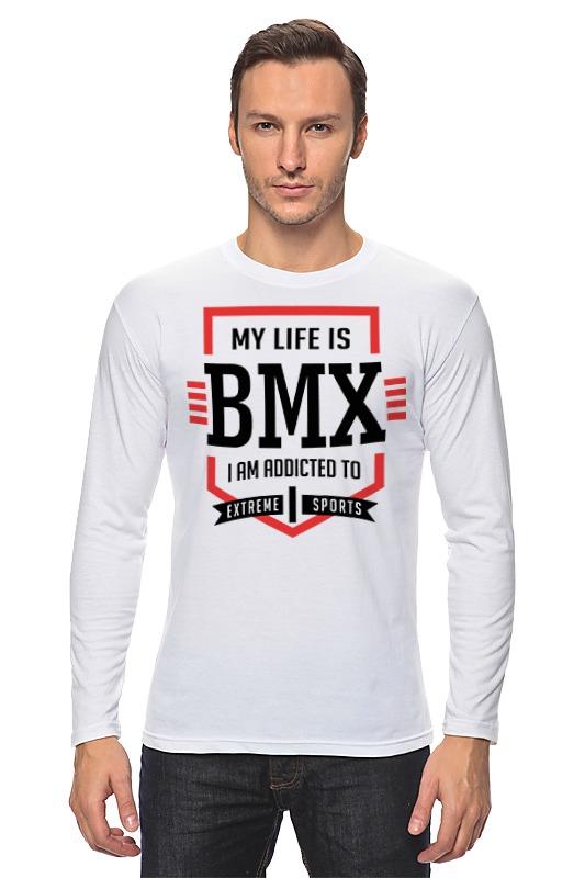 Лонгслив Printio Bmx - моя жизнь велопокрышка vise bmx 20x2 0 18 20 bmx