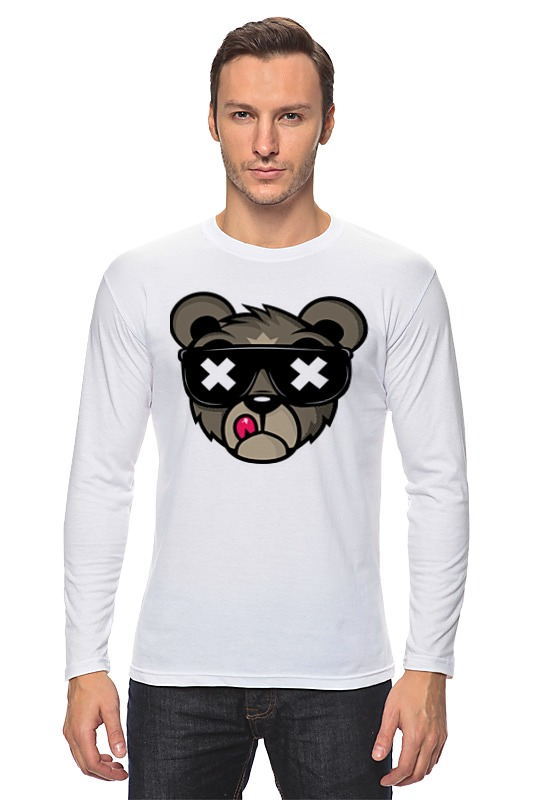 Лонгслив Printio Crew five cali bear лонгслив printio bear beer медведь и мед