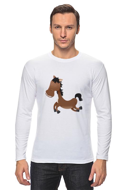 Лонгслив Printio Лошадь