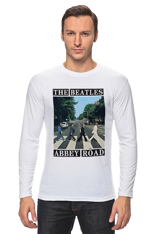 Лонгслив Printio The beatles магнит the beatles paper back writer