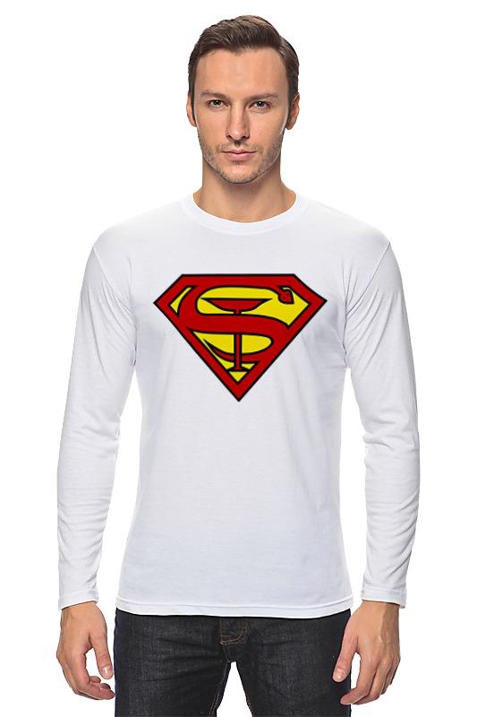 Лонгслив Printio Доктор супермен двухколесные велосипеды navigator супермен 12