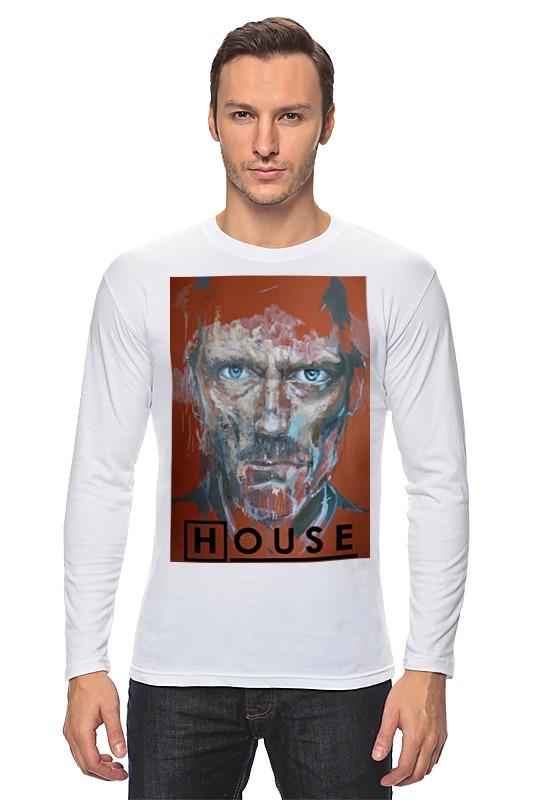 Лонгслив Printio Доктор хаус / house, m. d.