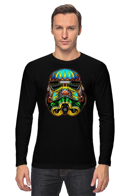 Лонгслив Printio Шлем штурмовика мото шлем beon 2015