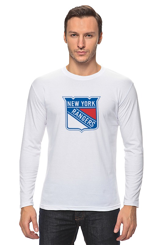 Лонгслив Printio New york rangers / nhl usa футболка wearcraft premium printio new york rangers nhl usa