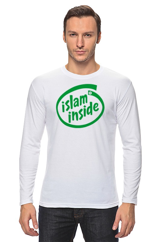 Лонгслив Printio Ислам внутри zamzam zamzam люблю ислам