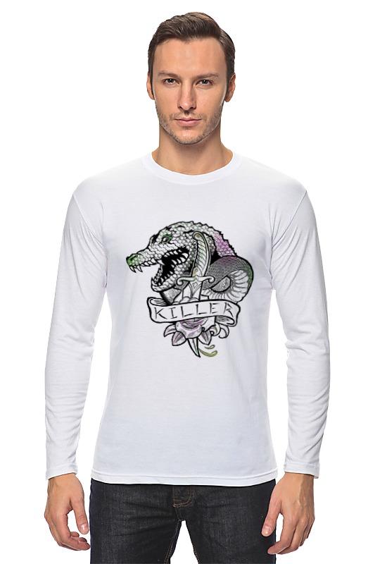 Лонгслив Printio Убийца крок dc comics фигурка металлическая killer croc alt 10 см