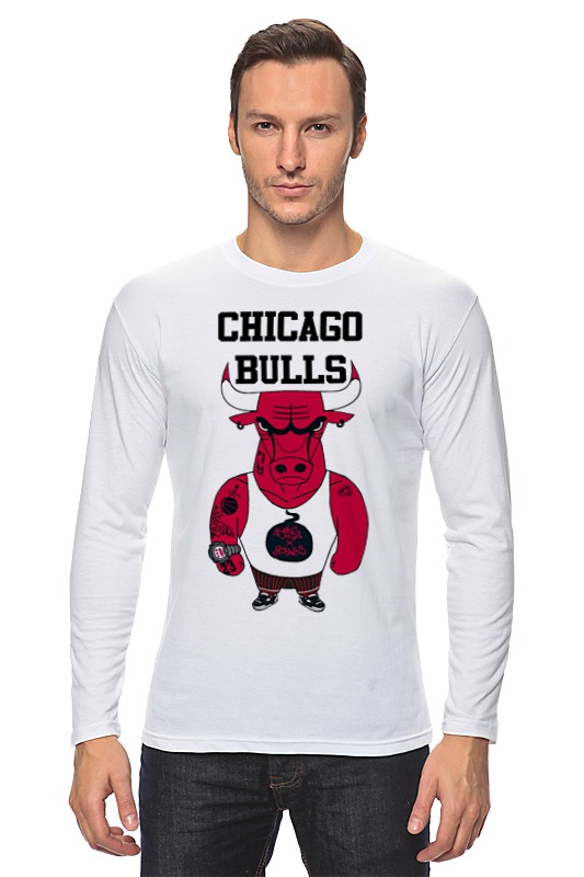 Лонгслив Printio Chicago bulls велосипед bulls nandi 27 5 2017
