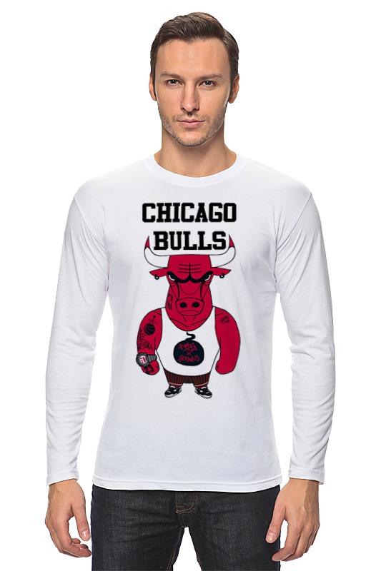 Лонгслив Printio Chicago bulls велосипед bulls tokee runner boy 2014