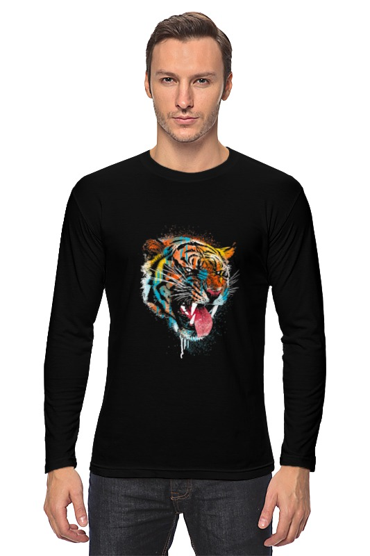 Printio Tiger лонгслив printio оскал тигра