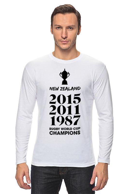 Лонгслив Printio Чемпионы регби (новая зеландия) лонгслив printio чемпионы регби новая зеландия