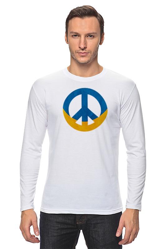 Лонгслив Printio Ukraine peace diehl paul f peace operations