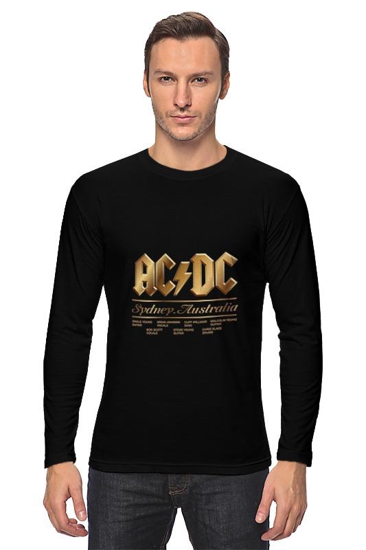 Лонгслив Printio Ac/dc виниловые пластинки ac dc rock or bust lp cd 180 gram with three dimensional cover art