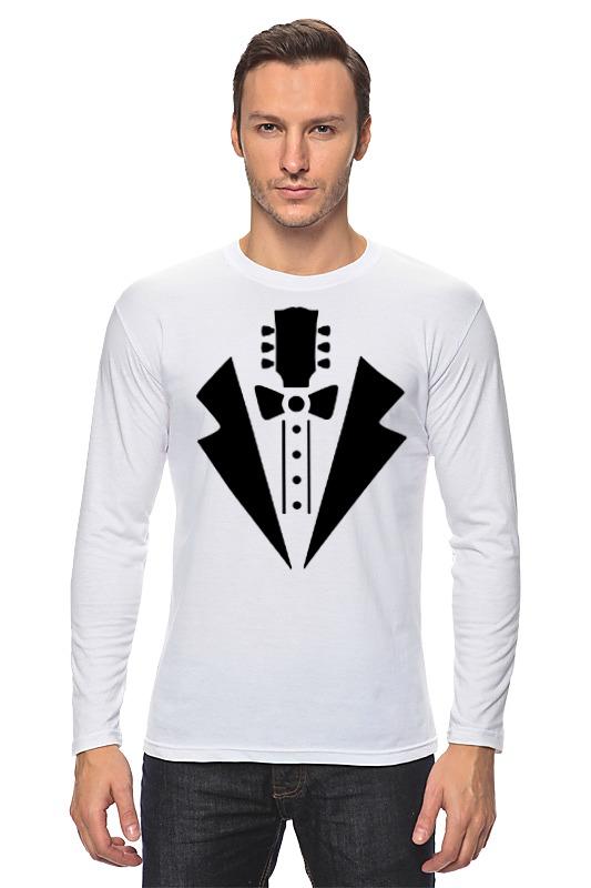 Лонгслив Printio Гитара-галстук
