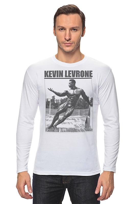 Лонгслив Printio Kevin levrone / кевин леврон кевин литтл kevin lyttle kevin lyttle ecd