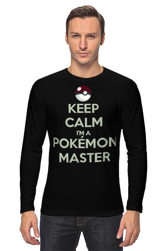 Лонгслив Printio Pokemon master master
