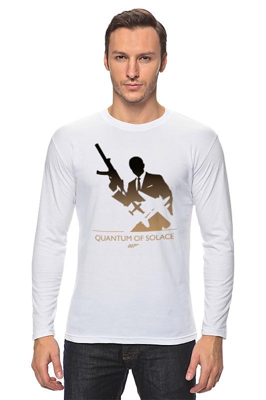Лонгслив Printio 007: квант милосердия квазиэлектронная атс квант