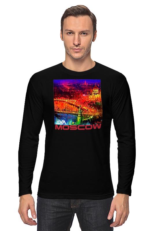 Лонгслив Printio Moscow love
