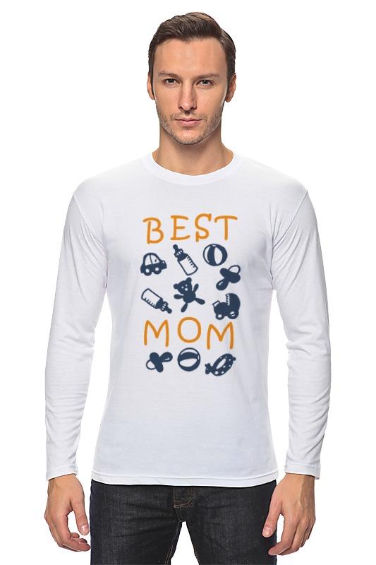 Лонгслив Printio Best mom футболка для беременных printio stay best mom in the world
