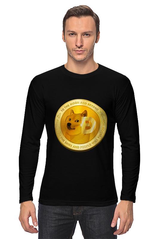 Лонгслив Printio Dogecoin