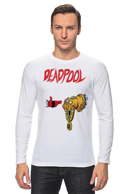 Лонгслив Printio Deadpool with thanos (run the jewels)