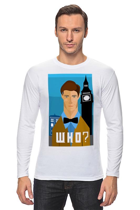 Лонгслив Printio Доктор кто (doctor who) лонгслив printio доктор кто doctor who