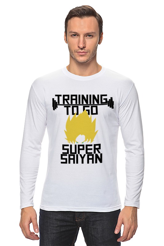 Лонгслив Printio Training to go super saiyan футболка wearcraft premium slim fit printio training to go super saiyan
