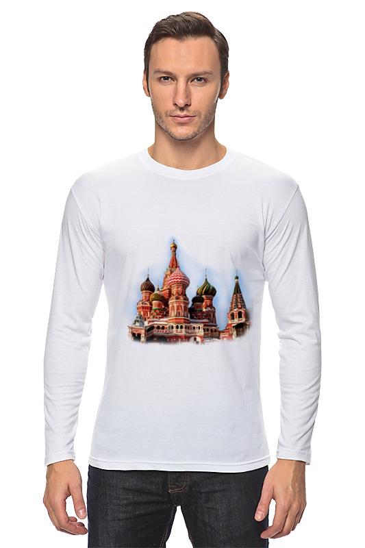 Лонгслив Printio Moscow