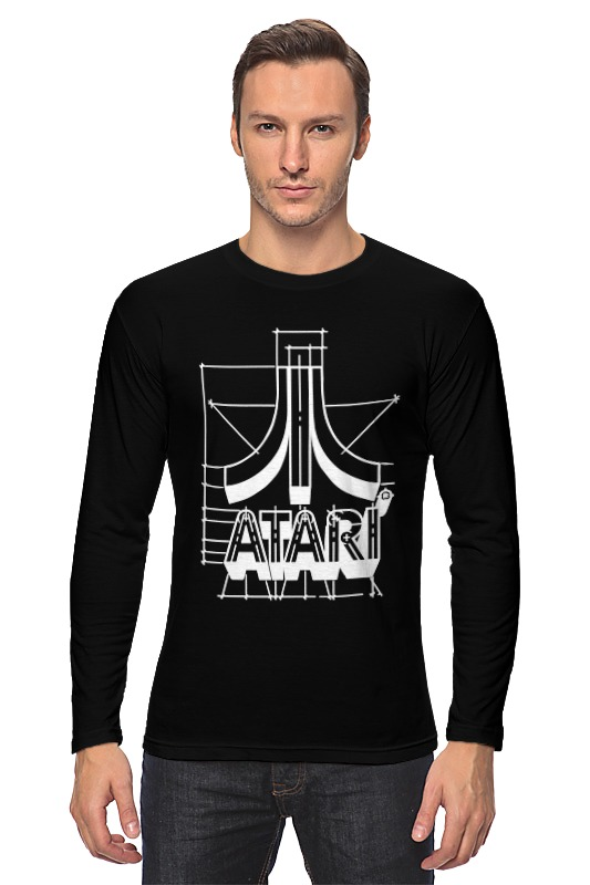 Лонгслив Printio Логотип атари - atari logo футболка wearcraft premium printio логотип атари atari logo