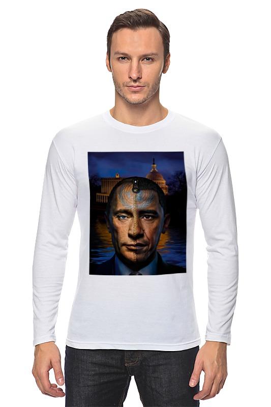 Лонгслив Printio Путин vs обама сумка printio путин vs обама
