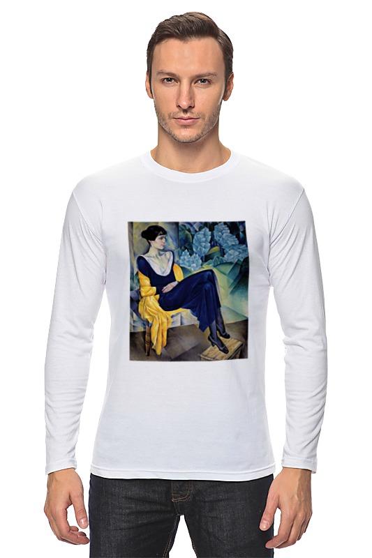 Лонгслив Printio Портрет а. а. ахматовой (натан альтман) толстовка wearcraft premium унисекс printio портрет а а ахматовой натан альтман