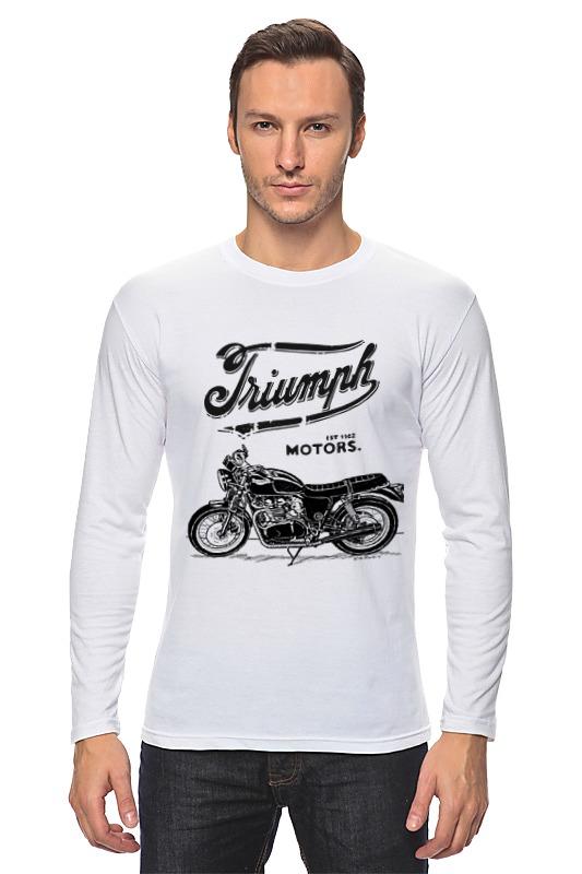 Лонгслив Printio Triumph motorcycles triumph расчёска нейлоновая1 5102