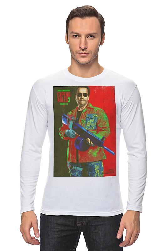 Лонгслив Printio Expendables iii shwarzenegger colors футболка wearcraft premium slim fit printio expendables iii shwarzenegger colors