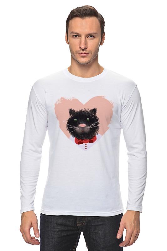 Лонгслив Printio Портрет кота лонгслив printio николай гоголь портрет работы фёдора моллера