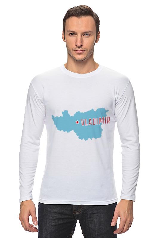 Лонгслив Printio Владимирская область. владимир