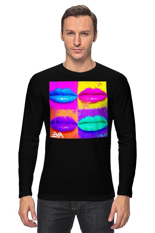 Лонгслив Printio Pop lips блеск для губ thebalm read my lips™ pop цвет pop variant hex name fd6743