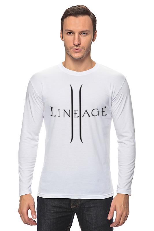 Лонгслив Printio Lineage 2 inhuman vol 3 lineage