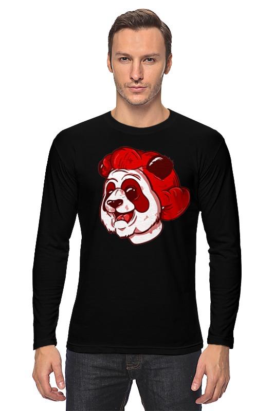 Лонгслив Printio Panda face panda робот пылесос panda i5 золотой